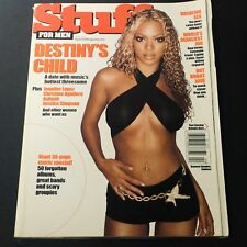 Stuff For Men Magazine April 2001 - Beyonce Plus Jennifer Lopez and Aaliyah