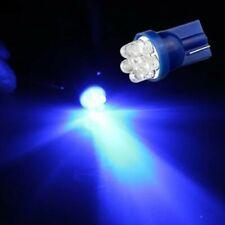 4× T10 6 LED Car Parking Lights Interior Lights License Plate Light Blue 24V
