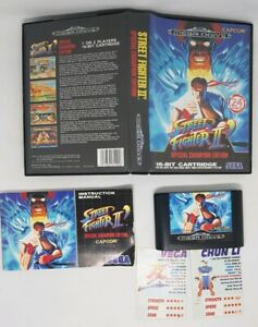 Sega Megadrive - Complete In Box - Street Fighter II 2 Special Champion Edition