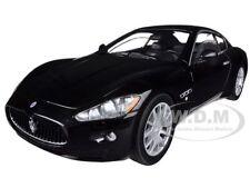 MASERATI GRAN TURISMO BLACK 1/24 DIECAST CAR MODEL BY MOTORMAX 73361