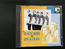 The Beach Boys Vs Jan & Dean - 15 Greatest Hits Japanese CD Album - CD-34