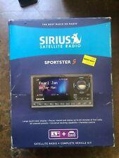 Sirius Satellite Radio Sportster 5 Dock Play Radio Vehicle Kit - Kit Only