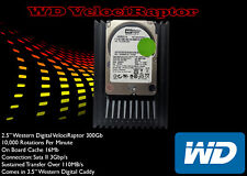 "Western Digital VelociRaptor WD 3000 GLF 300GB SATA 3.5"" Hard disk interno"