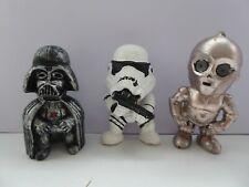 Star Wars Figures * Darth Vader * Stormtrooper * C-3P0 *