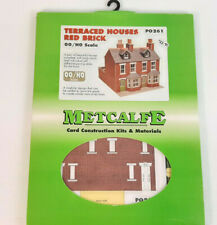 METCALFE TWIN TERRACE HOUSES CARD KIT EXCELLENT CONDITION BOXED OO GAUGE(SX)