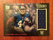 2014 Panini Rookies And Stars Andre Williams Rookie Patch