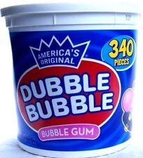 DUBBLE BUBBLE  Bubble Gum  Kaugummi  XXL-Pack  340 Stück = 1530 gr  Original USA
