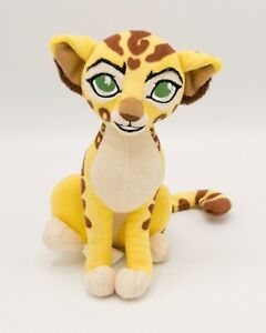 "Walt Disney Plush Lion Guard Fuli the Cheetah 6"" Yellow Stuffed Animal Toy"