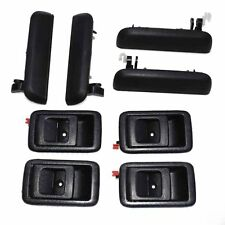 79341 Outside Car Door Handle Rear Right Black For Toyota Tercel 1995-1998 1.5L