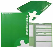 ACCIDENT REPORT BOOK HSE COMPLIANT FIRST AID SCHOOL/OFFICE INJURY HEALTH RECORD