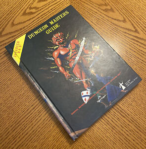 Advanced Dungeons & Dragons Dungeon Master's Guide 1st Edition ⭐️ TSR Hardcover