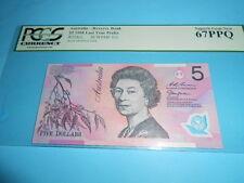 STUNNING, GEM UNC (PCGS), 1998, Last Prefix, $5 note, R218cL EA98 801804 ... WOW