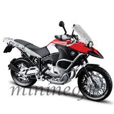 MAISTO 31157 BMW R1200 GS BIKE MOTORCYCLE 1/12 BLACK RED