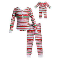 Dollie & Me Girl 2-14 and Doll Matching Christmas Pajamas Outfit American Girl