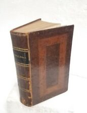 Antique 1831 Bible Old & New Testament Stereo Type Edit. American Bible Society