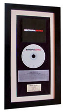 INTERPOL Antics CLASSIC CD GALLERY QUALITY FRAMED+EXPRESS GLOBAL SHIPPING!