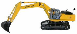 RSM 6504 New Holland E 485 B Tracked Excavator 1/87 HO Scale MIB