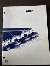 ONAN Special Tools Catalog Engine Repair Shop Service Manual book Cck NH J Aj ++