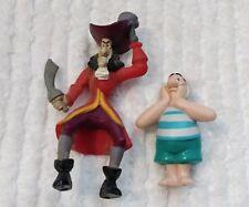 Vintage Hook Mr Smee Happy Meal Toys Lot Figures McDonalds Pvc Peter Pan