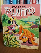 Walt Disney's Pluto by Revena (1957, Hardcover) Vintag Book Whtman Publishing