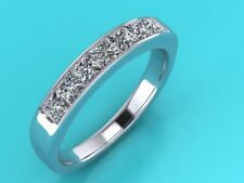 Eternity Princess Not Enhanced Very Good Fine Diamond Rings