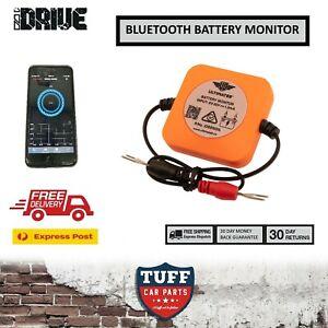 iDrive Australia Bluetooth Battery Monitor Tester Alarm 12 Volt 4WD Car Caravan