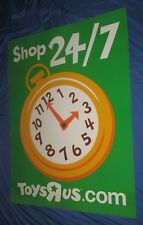 TOYS R US Exclusive Sign/Store Display (Large 4' x 3')  Shop Online 24/7