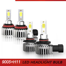 9005 H11 LED Headlight Fog Light Bulbs for CHEVROLET AVALANCHE 2007-2013 VDW