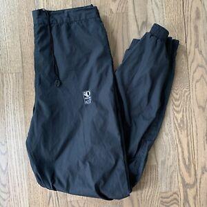 VINTAGE Pearl Izumi Clima Guard Men's Cycle Pants Med Black Joggers TRANS GLOBE