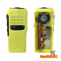 Yellow Replacement Repair Housing Case With Speaker For Motorola HT750 radio