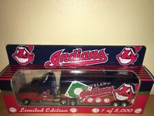 1996 CLEVELAND INDIANS PETERBILT TRAILER/MATCHBOX/WHITE ROSE