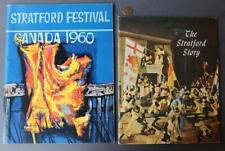 1960 Stratford,Ontario Canada Skakespeare Festival TWO program set-Julie Harris*