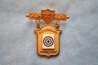 80/'s Spanish Army Spain metal cap badge C9A6 b9597 1950/'s
