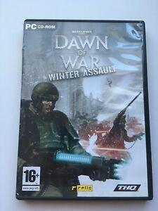 Warhammer 40,000 Dawn Of War - Winter Assault Expansion Pack PC Game CD-Rom