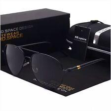 AYZA Herren Sonnenbrille Polarisiert Aviator Metal 100% UV 400 Pilotenbrille