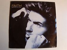 """GEORGE MICHAEL: Faith / Hand to mouth 7"""" 45T 1987 Holland pressing EPC 651119"""