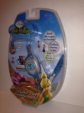 Disney Fairies Clickables Fairy Friendship Bracelet Blue Pixie Hollow W/charmNIP