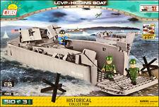 COBI LCVP - Higgins Boat (4813) - 510 elem. - WWII US landing craft