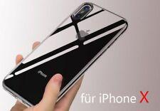 Ultra Slim TPU Case Crystal für Apple IPhone X silikon 0,3mm Hülle