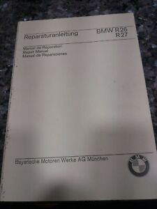 MANUAL DE REPARACION BMW R26/R27