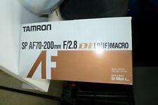 Tamron 70-200mn f2,8 monture Nikon 2