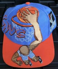 Vintage 90s Cleveland Cavaliers Cavs Drew Pearson Snapback Hat Dunk Graffiti