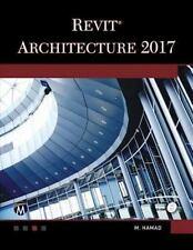 REVIT ARCHITECTURE 2017 - HAMAD, MUNIR M. - NEW PAPERBACK BOOK