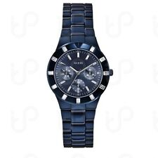 NEW Montre Iconic GUESS W0027L3 BLUE-TONE HIGH-SHINE FEMININE SPORT WATCH