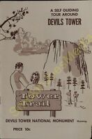 Vintage Travel Brochure A Self Guided Tour Around Devil's Tower Wyoming Trail