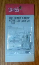Kadee #341 Three-Point Track Gauge -- For Code 70 & 100 Rail