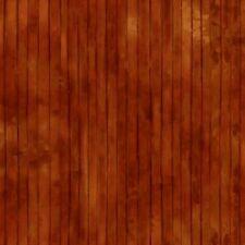 Chestnut Wood Plank Stripe Fabric Material
