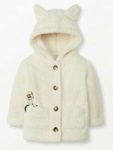 NEW Hanna Andersson 90 3T Where The Wild Things Are Marshmallow Jacket