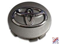 "Genuine Factory OEM Toyota Wheel Center Hub Cap Metallic Gray 2-1/2"" 42603-AC070"