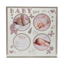 NOUVEAU bébé verre multi ouverture cadre de Photo avec Data ESPACE - Petite